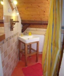 Arechettaz, Chambre de 2 dans chalet en montagne - Bed & Breakfast