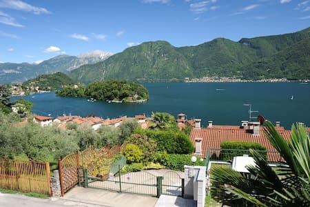 Wonderful view island Lake Como - Sala Comacina - Wohnung