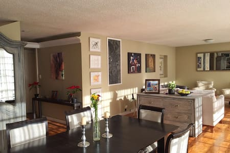 Lovely room in the heart of Condesa - Appartement