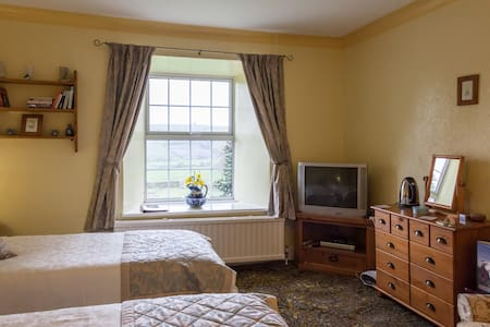 Newlands Hall farmhouse Weardale Daisy Room - Bed & Breakfast