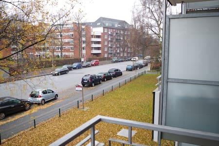 Hochwertige 1-Zimmer Wohnung am Bahnhof Barmbek - Hamburg - Condominium