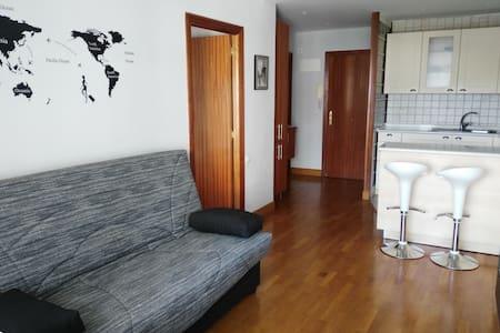 apartamento con piscina y zona dep. - Zarautz - Flat
