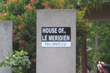 """""""House Of Le Meridien"""" (your home away home) - Apartment"""