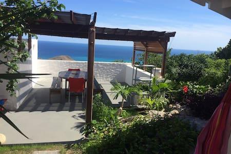 Case a  flo vue mer magnifique - Gustavia - Rumah