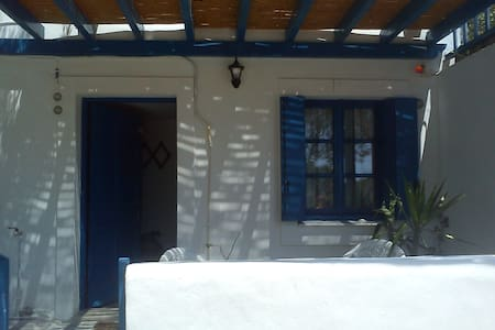 Niki double room in Kapsali - Daire