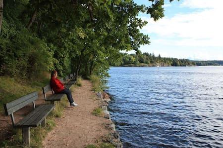 Nytt nær sjø, strender og Oslo - Sandvika - Appartement