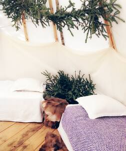 Glamping Tepee by the woods - Tipi