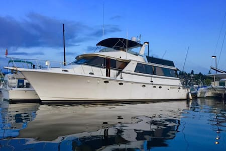 70 foot Yacht- Overnight and/or Charters - Seattle