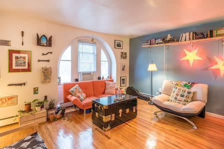 Lovely, artistic & quiet room in West Philly - Huoneisto