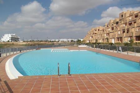 Terrasse sud vue sur isla et golf - Roldán - Appartement