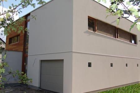 Maison contemporaine au Coeur des Ardennes Belges. - Hus