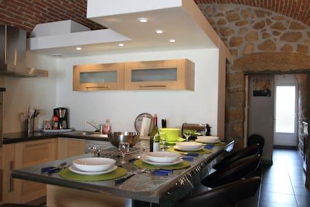Gîte appartement Briques et pierres Corse-Grosseto - Wohnung
