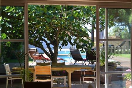 2 gîtes indépendants avec piscine privative - Marsilly