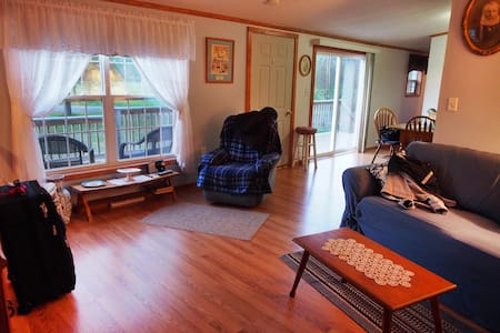 Cozy comfortable mobile home on private farm. - Andover
