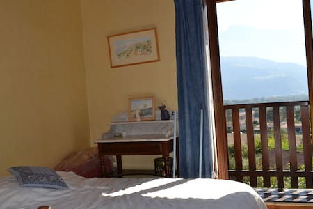 chambre bleue - Montbonnot-Saint-Martin - Villa
