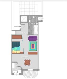 Ampio luminoso monolocale loftstyle - Apartment