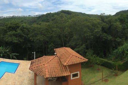 Casa Condomínio: Sossego, Segurança - Campo Limpo Paulista