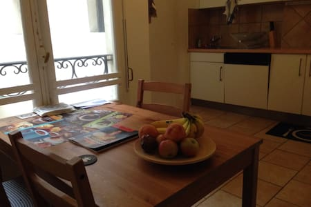 2 bedroom flat in central Nyon - Lejlighed