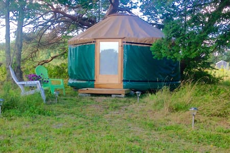 Rusticator House, Yurt. - Trenton - Bungalow