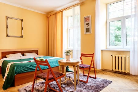 Sunny and bright room in Oldriga - Riga - Appartement