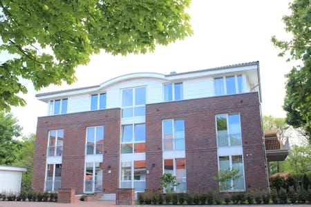 Haus Oldenburg, Whg. 10, mit Balkon eigener Sauna - Wohnung