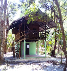 tree house small terrace - Boomhut