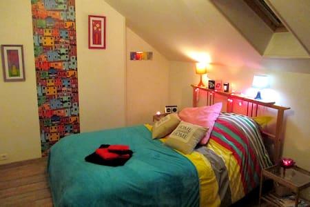 très belle chambre 10 min ROUEN - Rouen - Casa