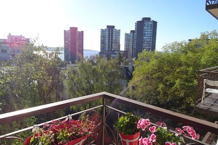 Ocean View, comfy 1bdr in West End - Vancouver - Appartement