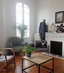 Grand appartement calme et spacieux - Daire