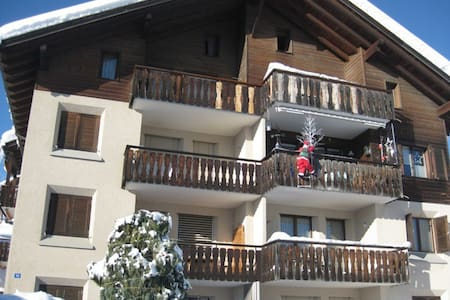 Nice two bedroom apartment in a beautiful little mountain village - Apartment