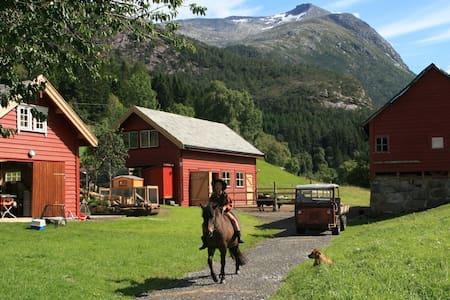 Gygratun recreational farm, Basement apartment - Huoneisto
