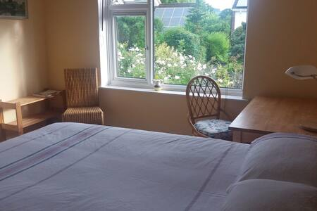 Dartington. Quiet, spacious room. - House