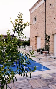 Stanza privata con bagno in villa con piscina - Vila