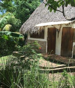 Nice Hut. El Zopilote permaculture farm/hostel - El Madroñal - Bungalow