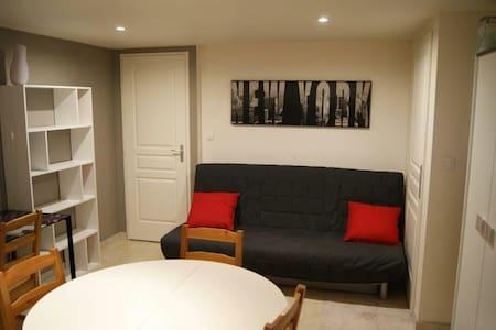 Charmant studio 10 min de Besançon - Wohnung