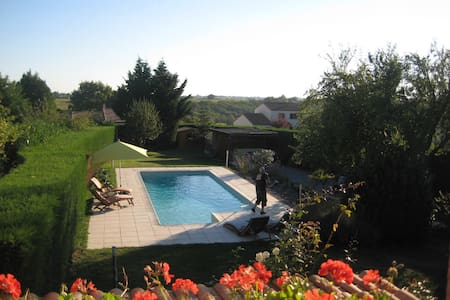 Maison proche de Nantes + piscine - Dom