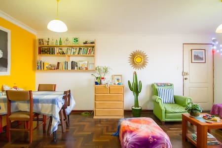 Cozy room, Nice apartment, Awesome roomies! - Magdalena del Mar - Byt