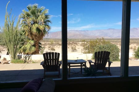 Wonderful Mid-Century, Privacy and Stunning Views - Borrego Springs - Talo
