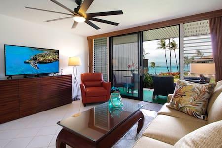 Mahina Surf Classic Hawaian 5 Star Ocean View 1 bd - Társasház