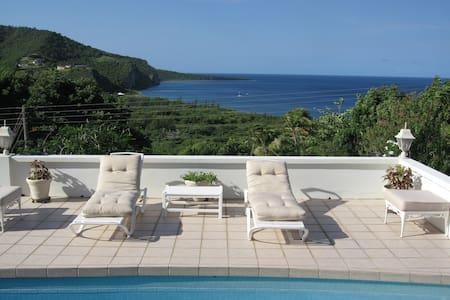 Las Alamandas - Montserrat's Best Ocean View - Casa de camp