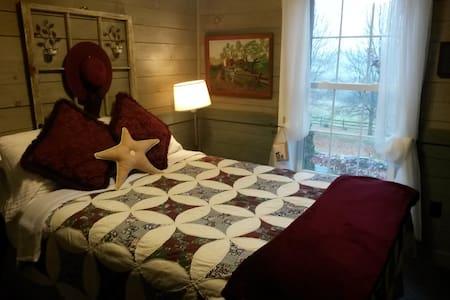 Champlain Valley Alpacas upstairs guest room - Bridport - Haus