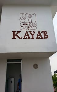 Casa Kayab... Eco Guest House Room 1 in Puerto M. - Puerto Morelos - House