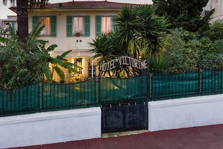 B &B Logis Hotel Villa Victorine - Niza - Villa