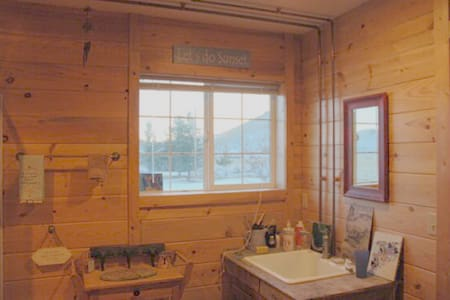 Mountain view studio, dry sauna! - Cabane
