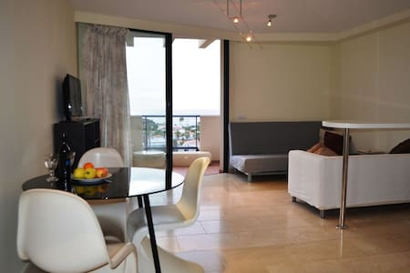Ap. with fab. views, only 250m to coastline, WIFI - Palm-Mar - Apartment