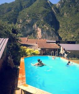 Maison La Montagne, 3 chambres, 8-10 personnes - Rumah