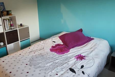 chambre privée dans appartement agréable et calme - Lorient - Daire