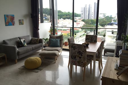 Cozy loft-like appartment with amazing facilities - Singapur