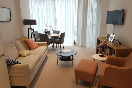 Bright, peaceful, modern apartment - Apartment