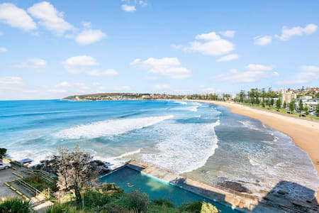 Top floor beach front apartment - Queenscliff - Apartment